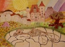 Prace konkursowe: Wioletta Orłowska, Martwa natura z pejzażem w tle, Nagroda MCK 2012
