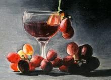 Warsztaty artystyczne: ALICJA NOWICKA Martwa natura, olejny pastel