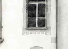 Warsztaty artystyczne: ANNA ZAJDEL Okna w 2LO, ołówek