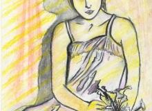 Warsztaty artystyczne: Barbara Picur Dziewczyna