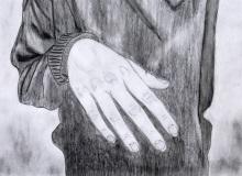 Warsztaty artystyczne: MICHALINA KOBLAŃSKA Studium ręki, ołówek