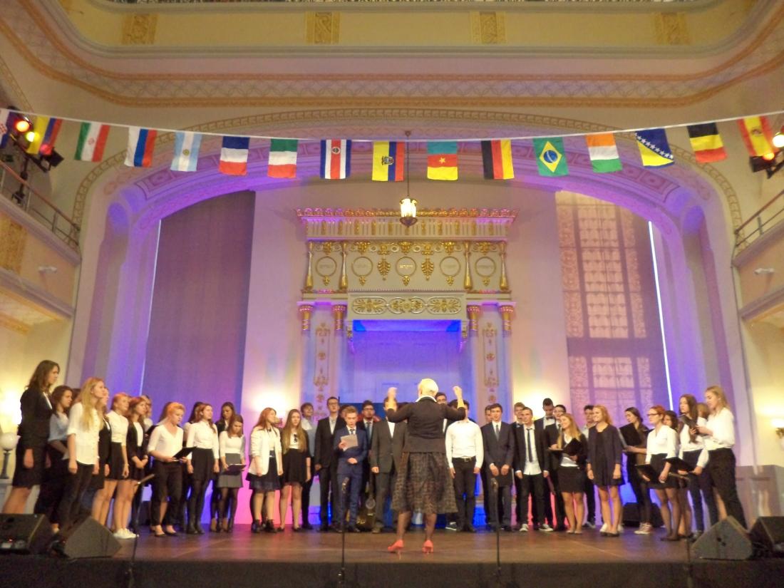 Koncert chóru w Synagodze
