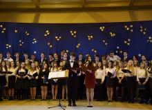 Jasełka 2017 występ chóru