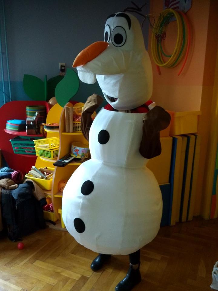 Ola Krasicka jako Olaf