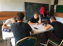 Obóz matematyczny, październik 2018