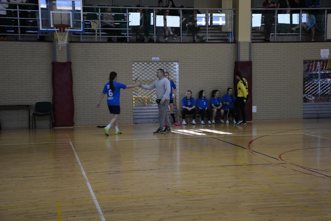 Licealiada Miasta Legnica w piłce nożnej dziewcząt styczeń 2020