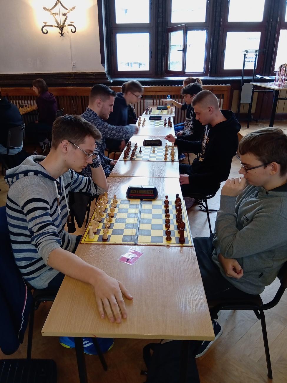 zawody szachowe styczeń 2020