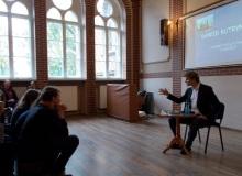 Spotkanie autorskie z Dawidem Kutryn, październik 2018