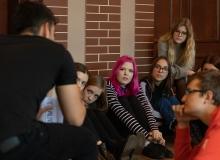 Spotkanie z wolontariuszami Euroweek listopad 2019