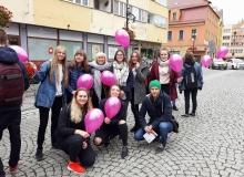 Marsz ku zdrowiu zorganizowany przez Ruch Kobiet do Walki z Rakiem Piersi Europa Donna