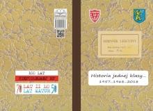 """OKLADKA Wspomnienie uczniow klasy """"d"""" 1964-1968"""